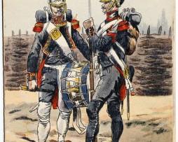 Garde Impériale Génie - Uniforme - 1er Empire - Pierre Albert Leroux