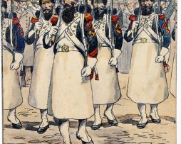 Garde Impériale Grenadier à Pied Sapeurs - Uniforme - 1er Empire - Pierre Albert Leroux