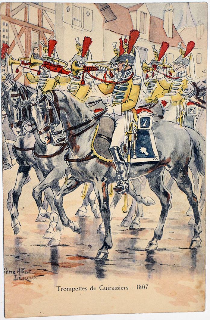 Trompettes Cuirassiers - Uniforme - 1er Empire - Pierre Albert Leroux