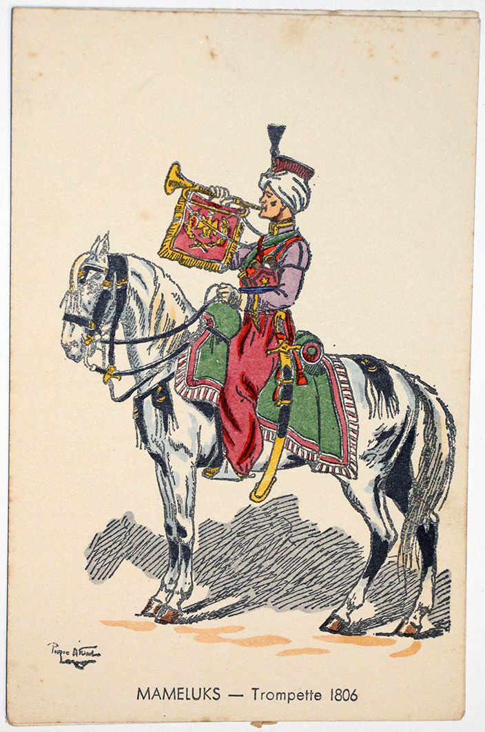 Mamelouks Trompette - 1806 - Pierre Albert Leroux