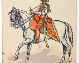 Garde Impériale Chevau-legers Lanciers 1812 Pierre Albert Leroux