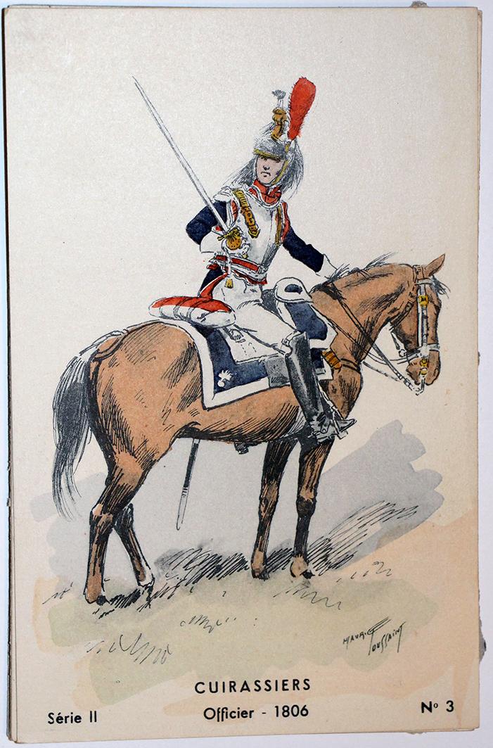 Cuirassier Officier 1806 - Maurice Toussaint