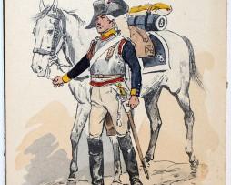 Cuirassier 8e Régiment 1800 - Maurice Toussaint