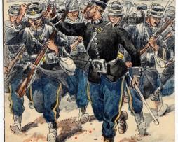 Chasseurs à pied 1914 - Uniforme - Pierre Albert Leroux