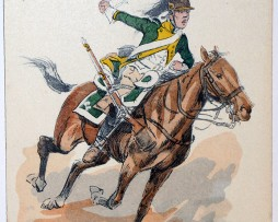 Dragons 22e Régiment 1806 - Maurice Toussaint