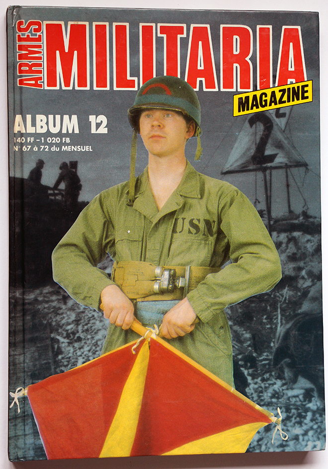 Armes Militaria - Album n°12 - Seconde Guerre Mondiale - Indochine - N° 67 à 72