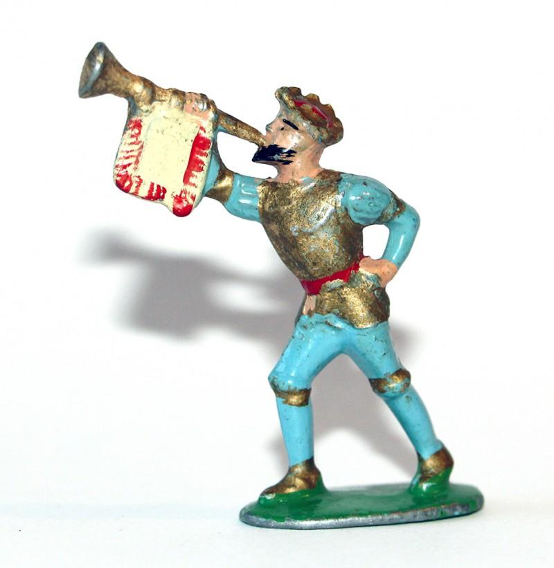 Figurines Quiralu ancienne Guerre Italie Trompette