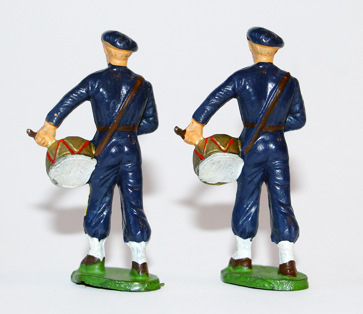 Figurines Starlux ancienne 2 Chasseurs à Pied Tambour