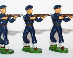 Figurines Starlux ancienne 3 Chasseurs à Pied