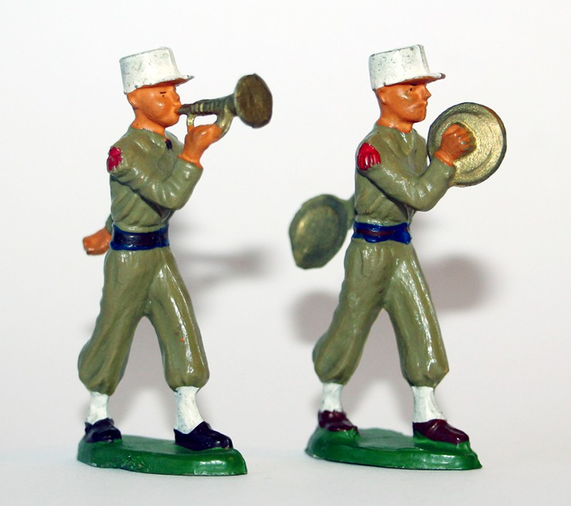 Figurines Starlux ancienne 2 Légionnaires