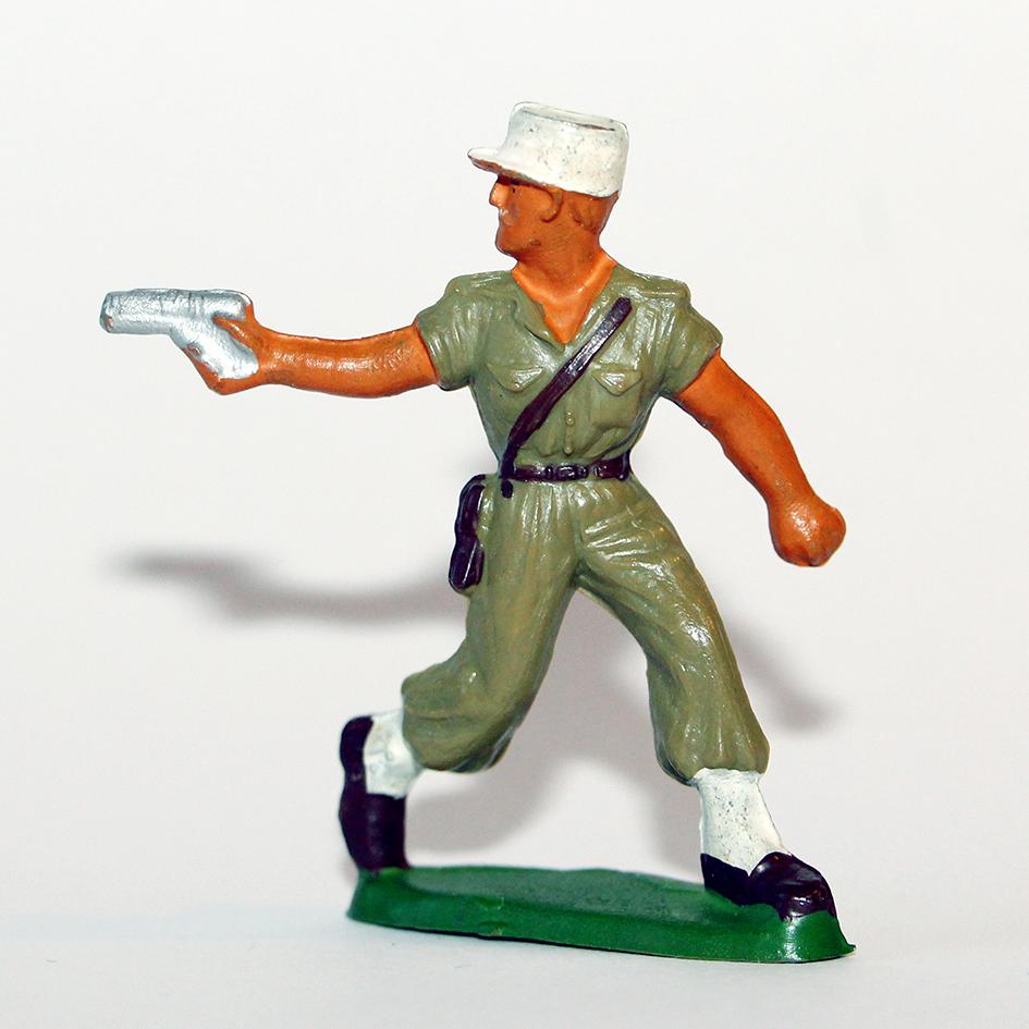 Figurines Starlux ancienne 1 Légionnaire Officier