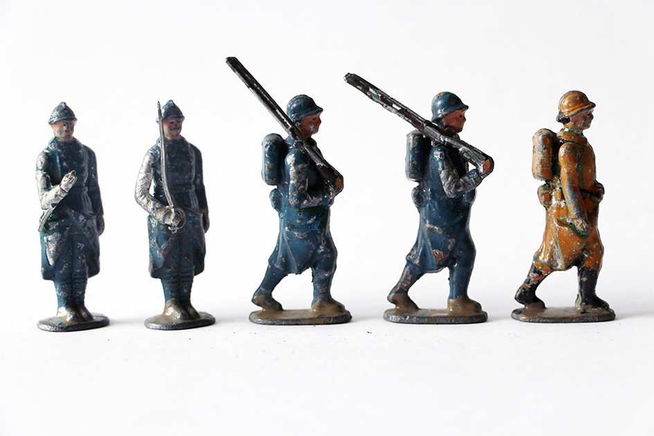 Figurines CBG Mignot Infanterie Française 1930