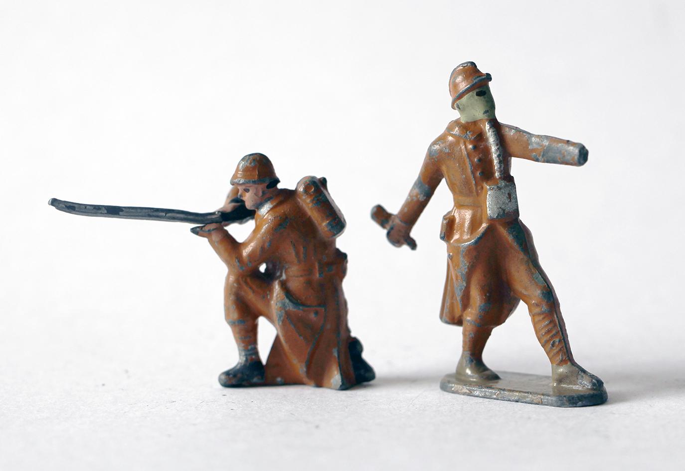 Figurines CBG Mignot Infanterie Française 1933