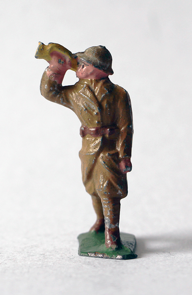 Figurines Quiralu ou plomb creux Infanterie Clairon