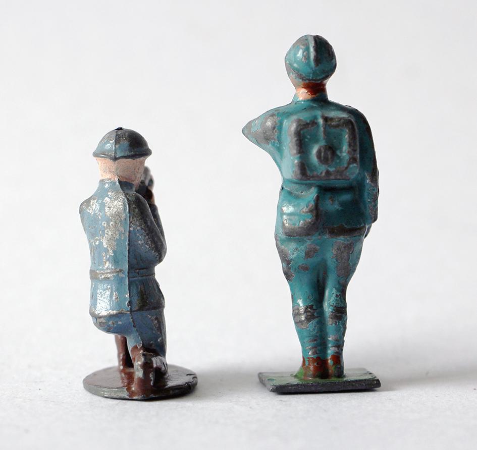 Figurines Quiralu ou plomb creux Infanterie Française 1920