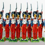 Grenadiers de la Garde Impériale Second Empire - Figurines de papier.