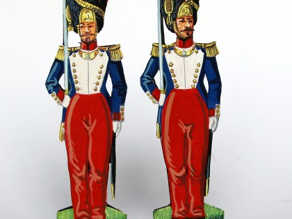 Grenadiers de la Garde Impériale, le Second Empire en figurines de papier