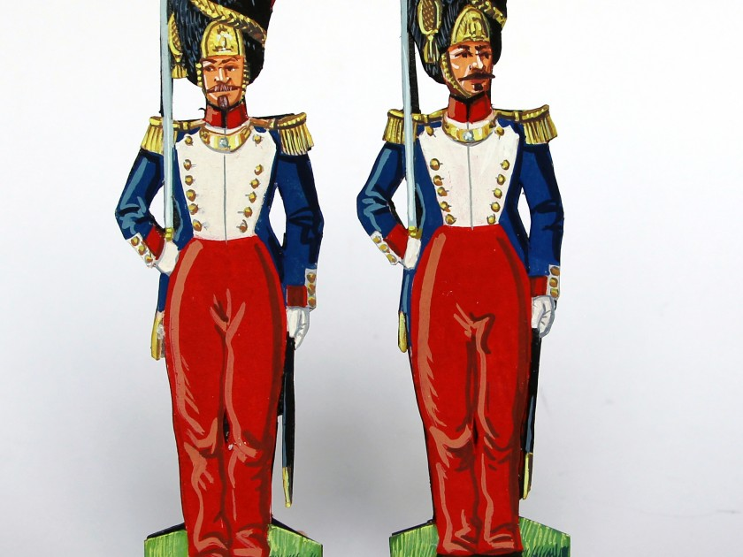Grenadiers de la Garde Impériale, le Second Empire en figurines de papier