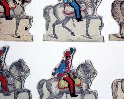 Petits Soldats de Strasbourg - Cavalerie - Planche Silberman Divers