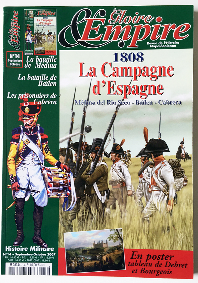 La Campagne d'Espagne 1808