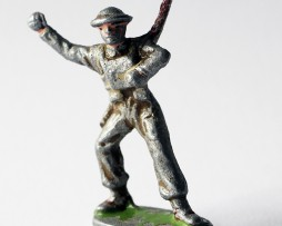 Figurine Quiralu ancienne Infanterie Anglaise 1940