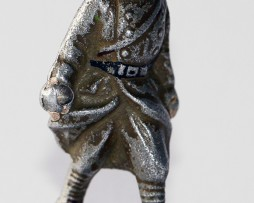 Figurine Quiralu ancienne Infanterie Masque Gaz 1940
