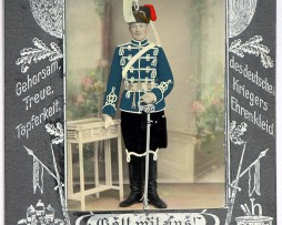 CDV Hussard Prussien Guerre 14/18