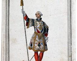 Maison du Roi sous Louis XV, 1724