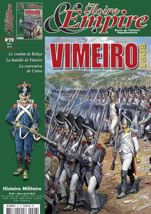 Gloire et Empire N°29 - Vimeiro 1808 - Revue mars/avril 2010
