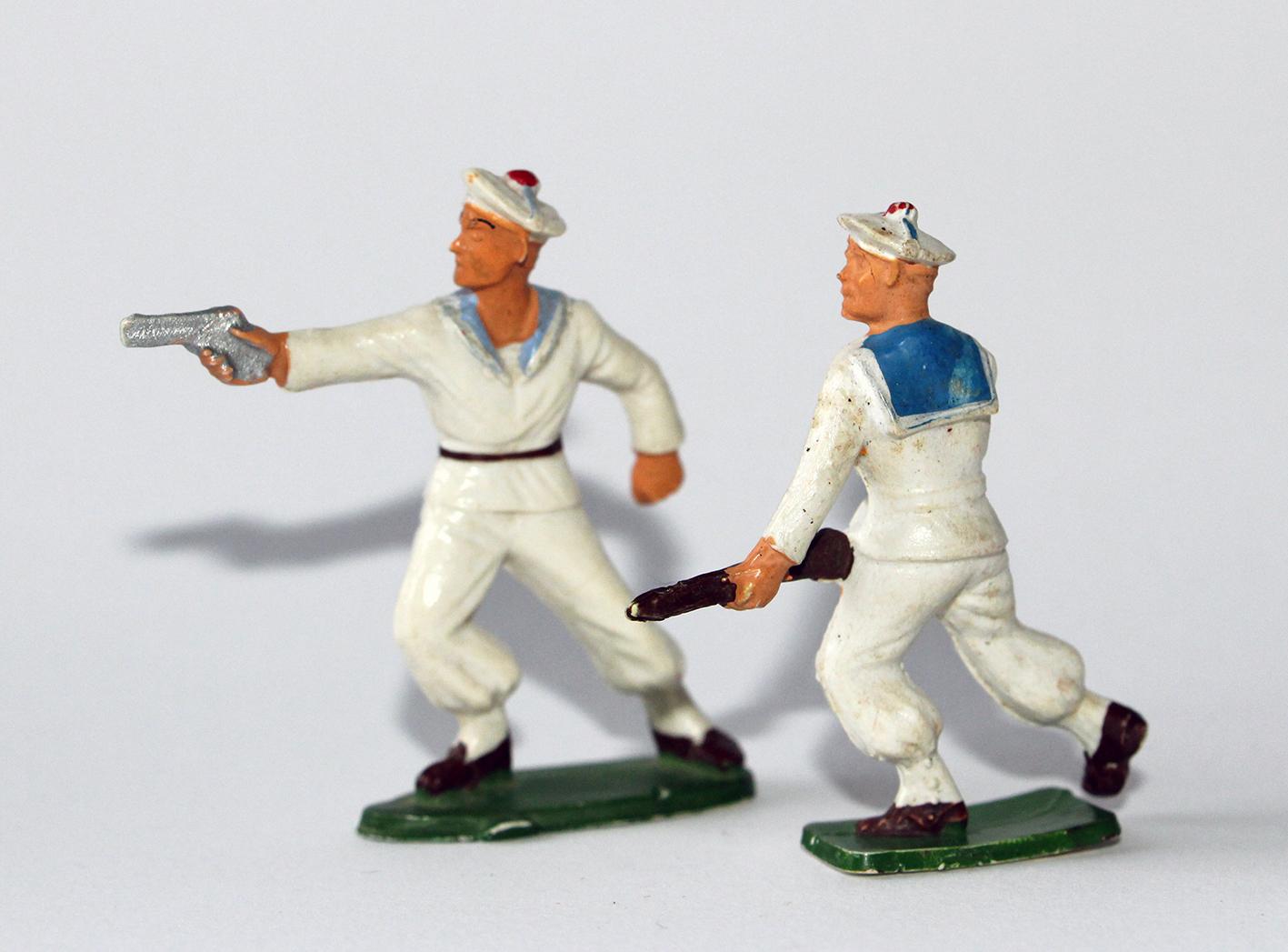 Figurines Starlux Marins Français