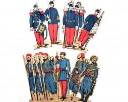 Grands Soldats Imagerie Epinal - Pellerin Editeur - Vrac - Infanterie de ligne - Turcos