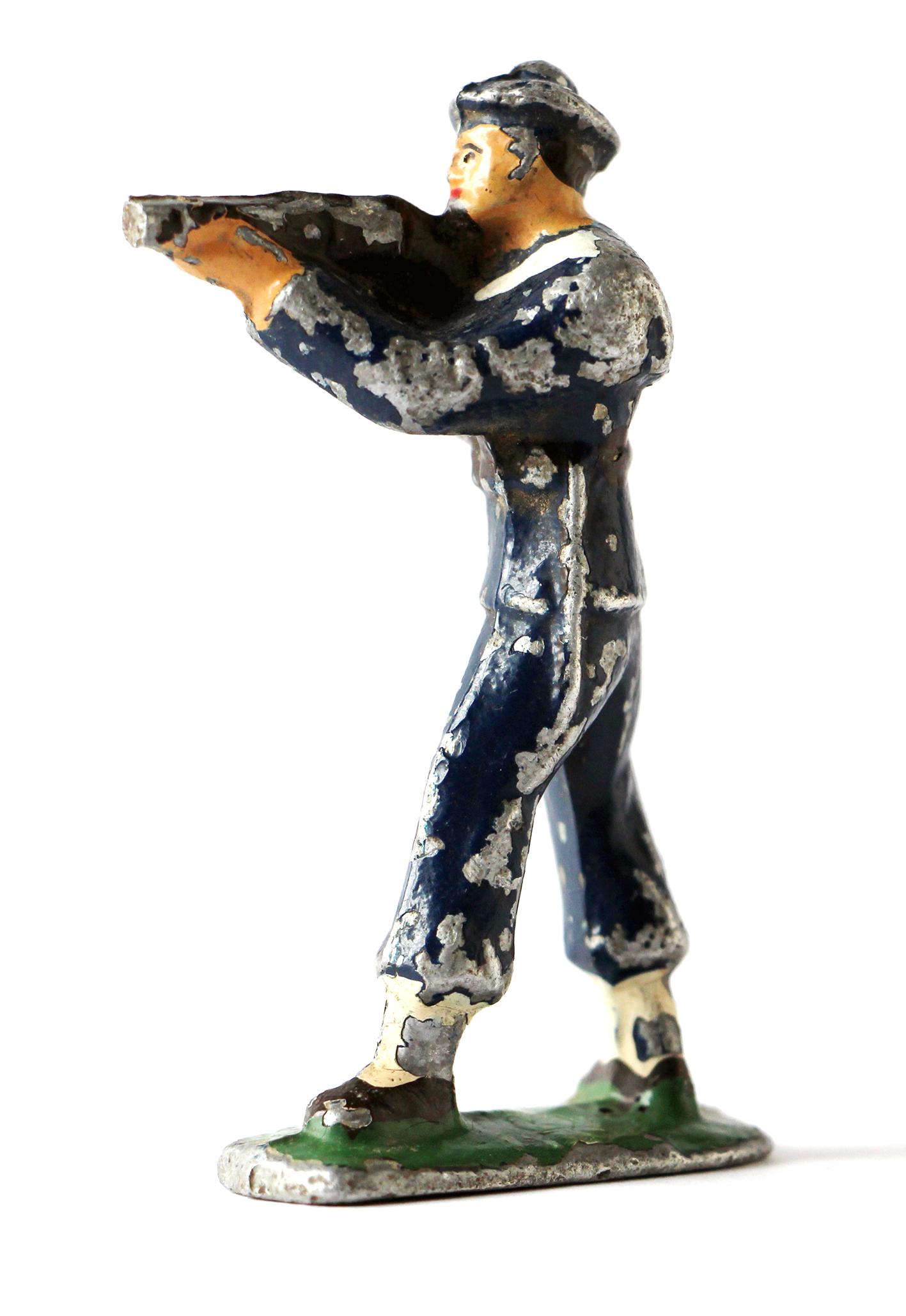 Figurine Quiralu Marin Français Tireur Debout
