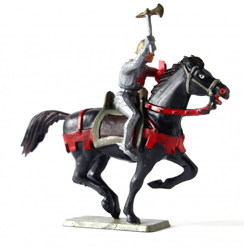 Figurine Starlux Chevalier Moyen Age Cavalier