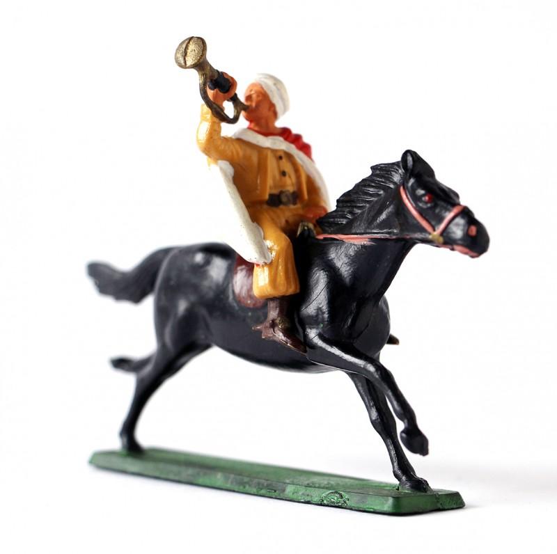 Figurine Starlux ancienne Cavalier Spahis Armée Française