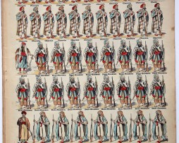 Planche imagerie Epinal - Pellerin Editeur - N°836 - Montagnards Marocains