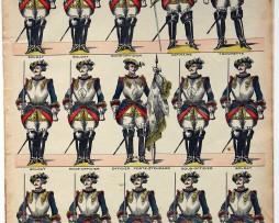 3 Planches imagerie Epinal - Pellerin Editeur - N°400/372/383 - Divers