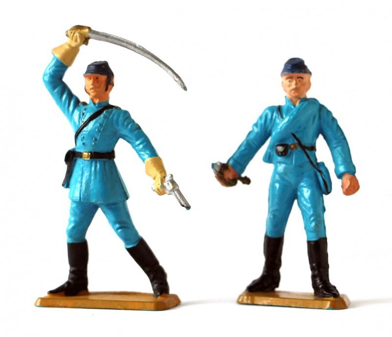 Figurine Starlux USA Nordistes Guerre de Secession