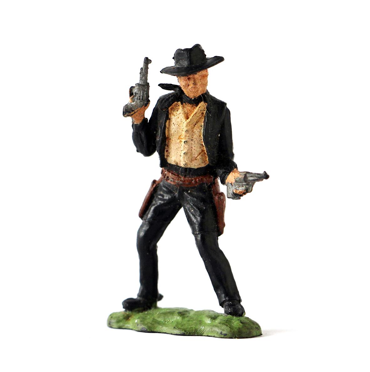 Figurine plastique Cowboy année 70