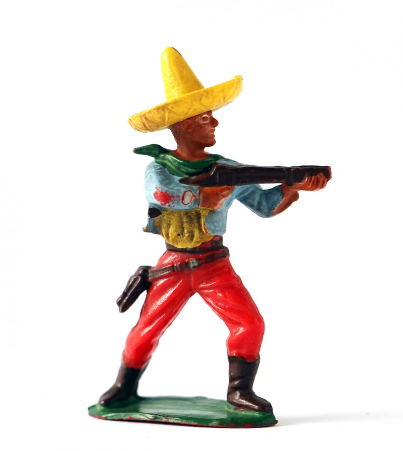 Ancienne figurine Starlux Mexicain
