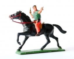 Figurine Starlux CowBoy Cavalier Pistolets