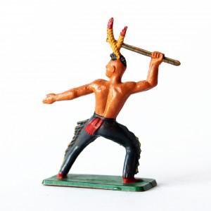 Figurines Starlux Indiens Sioux