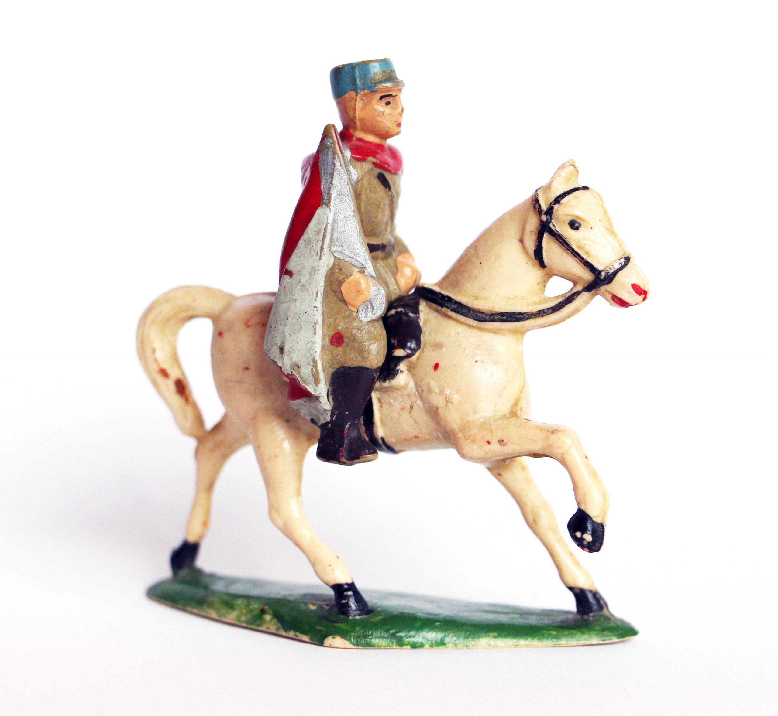 Ancienne Figurine Starlux - Spahis - 1er Epoque