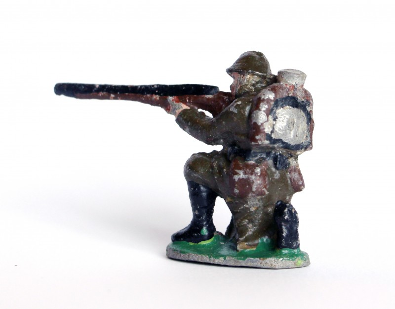 1 Figurine Quiralu Infanterie - 2nd Guerre Mondiale