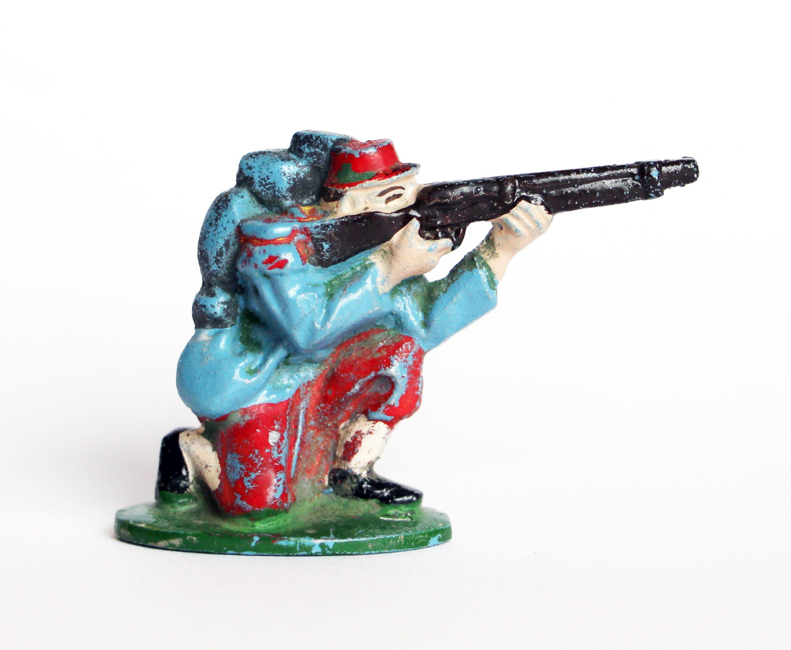 Figurine Quiralu Infanterie 1870 - Guerre 1870 - Série rare