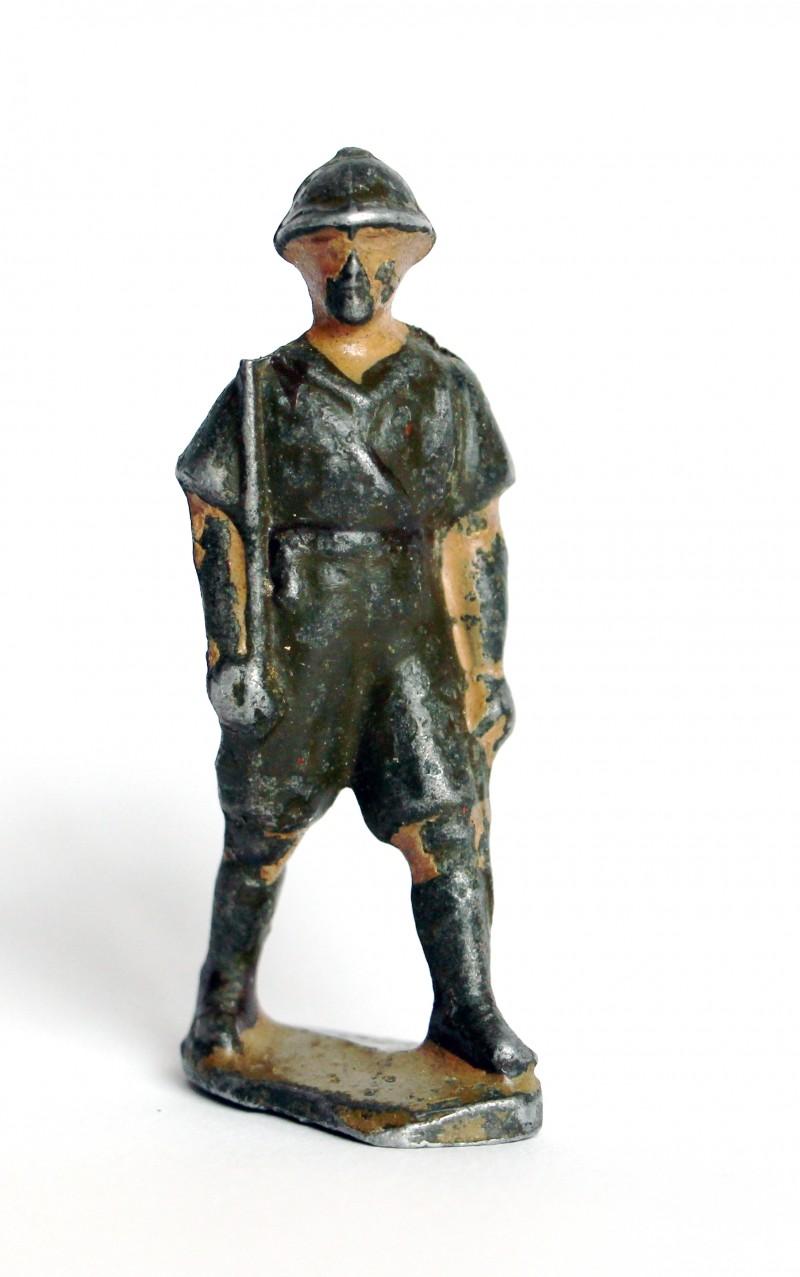 1 Figurine Quiralu Infanterie Colonie - 2nd Guerre Mondiale