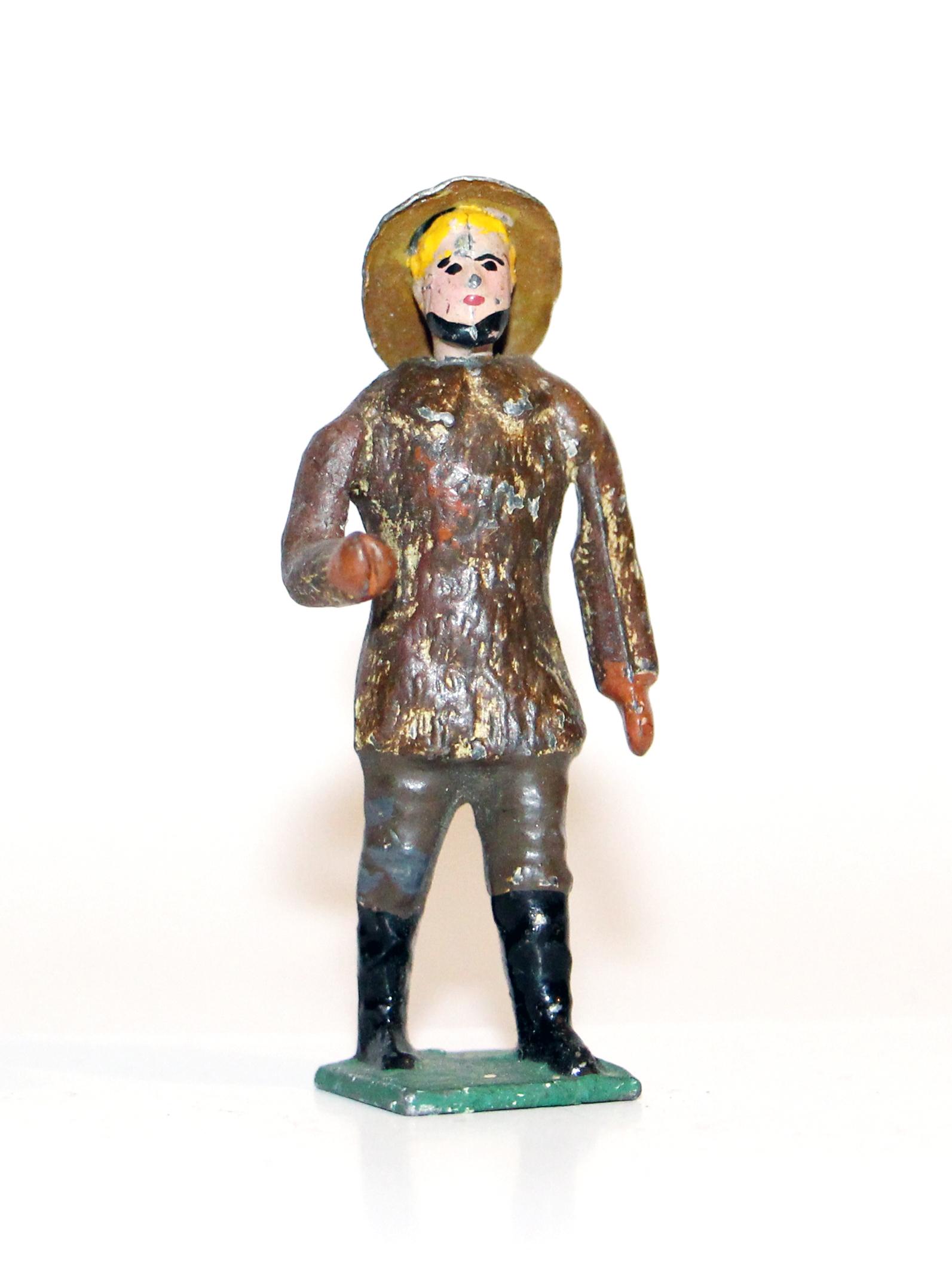 Figurine Ancienne CBG MIGNOT - Chasseur de Baleine 1900
