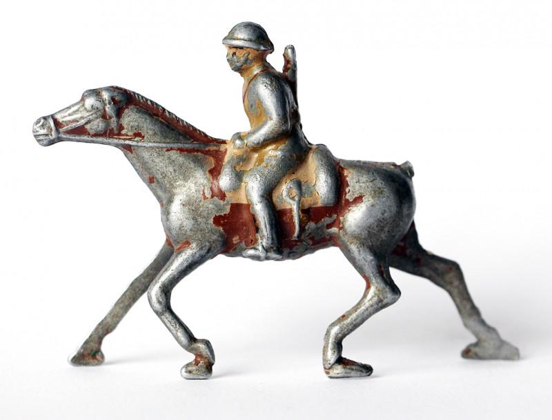 Figurine Quiralu Cavalier Armée Française