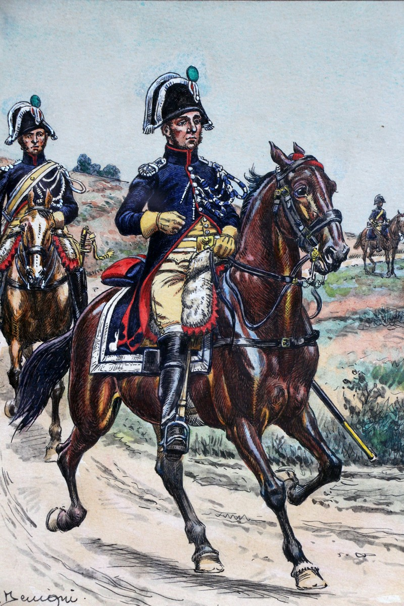 Dessin original rehauss gendarmerie d elite pierre - Gendarme dessin ...