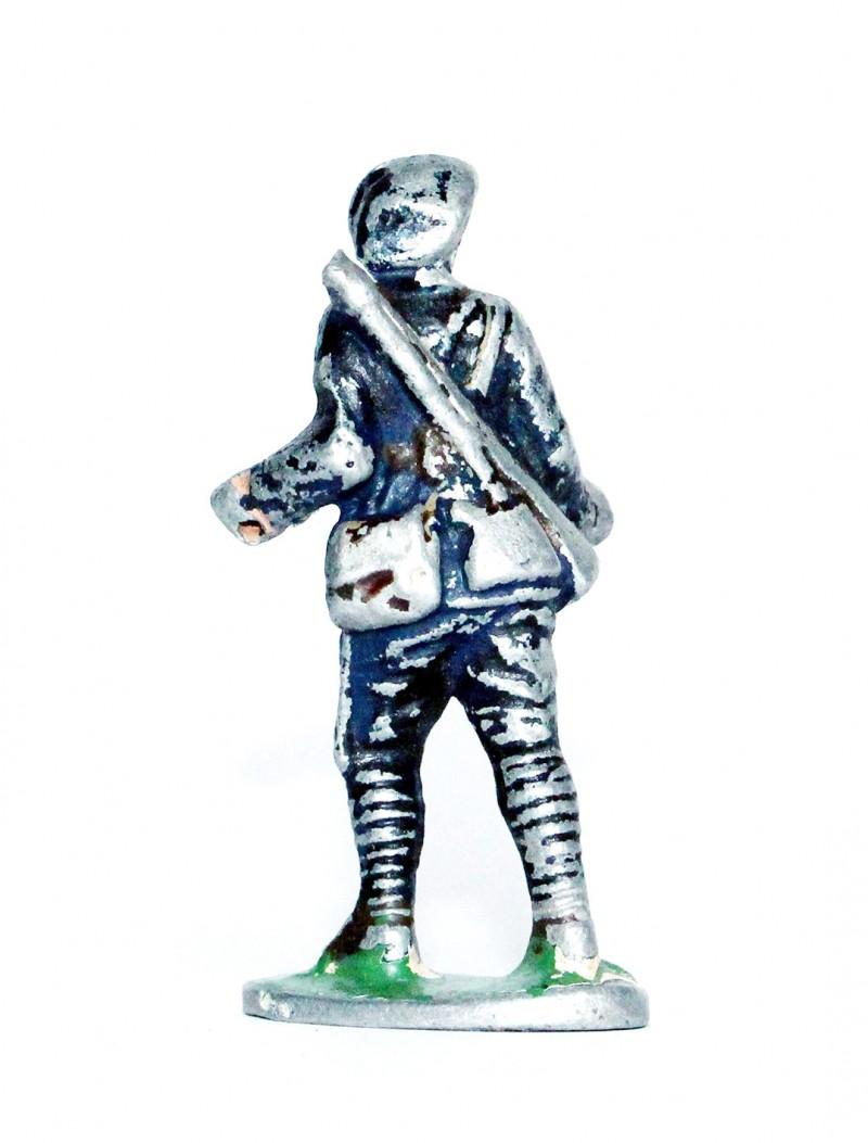 Figurines Quiralu ancienne Chasseur Alpin Tenue bleue