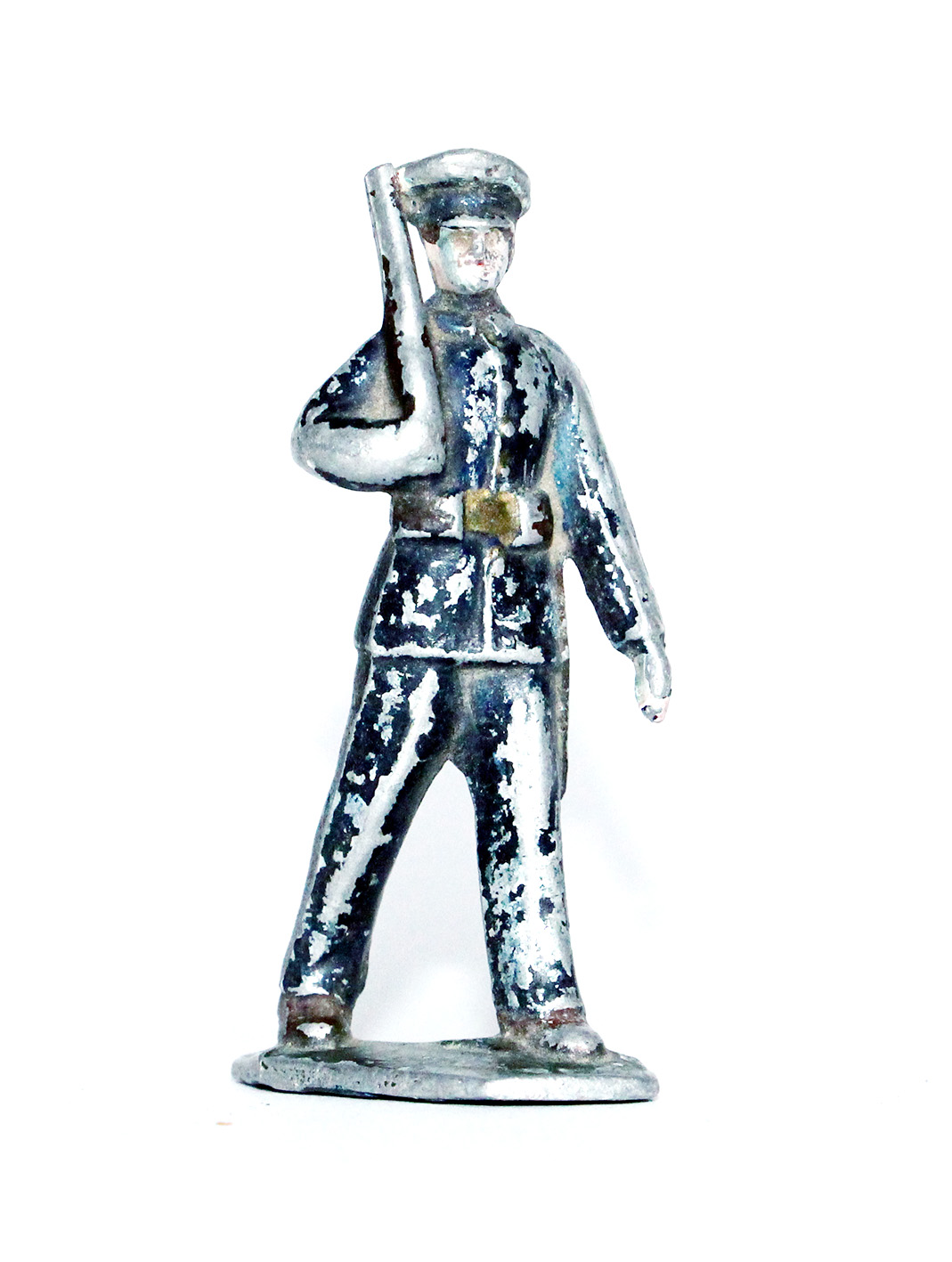 Figurines Aluminium ancienne Infanterie Aviation France 1940